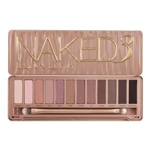Urban Decay Naked 3 Eyeshadow Pallette with brush